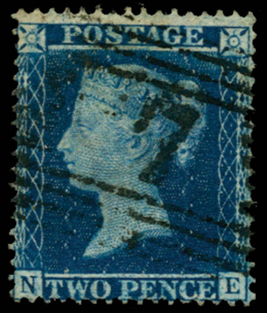 GB 1857  SG36a Pl.6 Used
