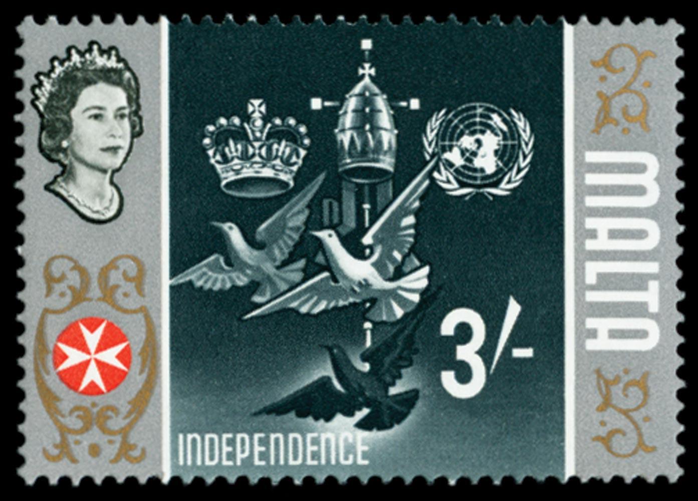 MALTA 1965  SG345b Mint