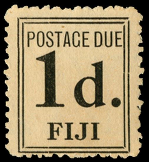 FIJI 1917  SGD5b Postage Due