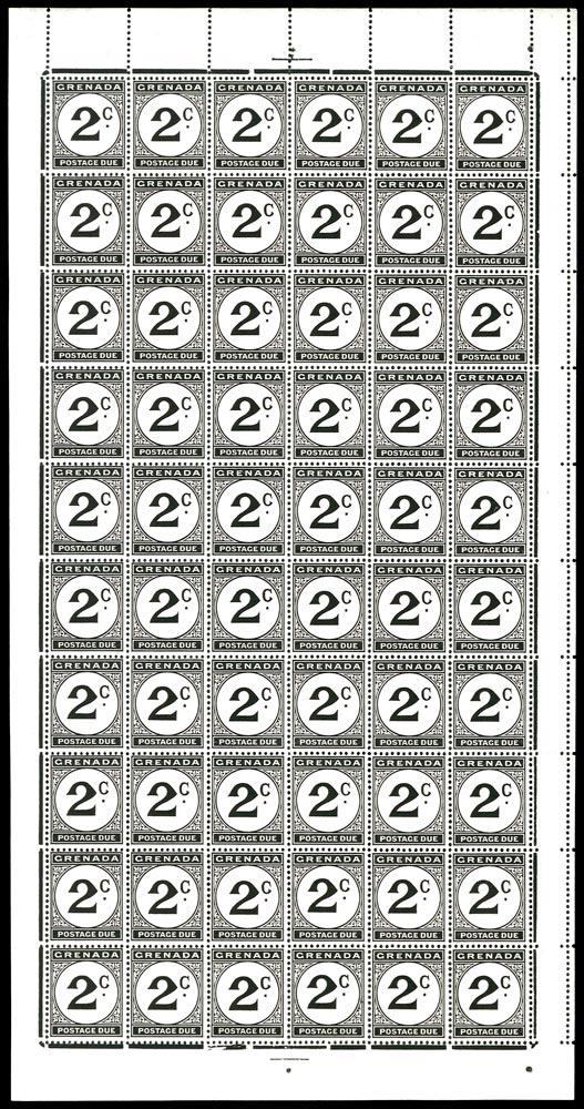 GRENADA 1952  SGD15/a Postage Due