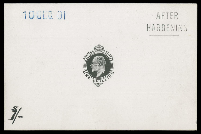 GB 1901  SG257var Die Proof