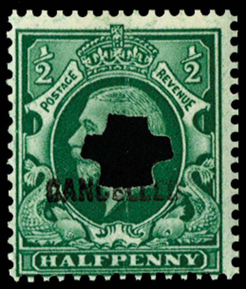 GB 1934  SG439var Mint