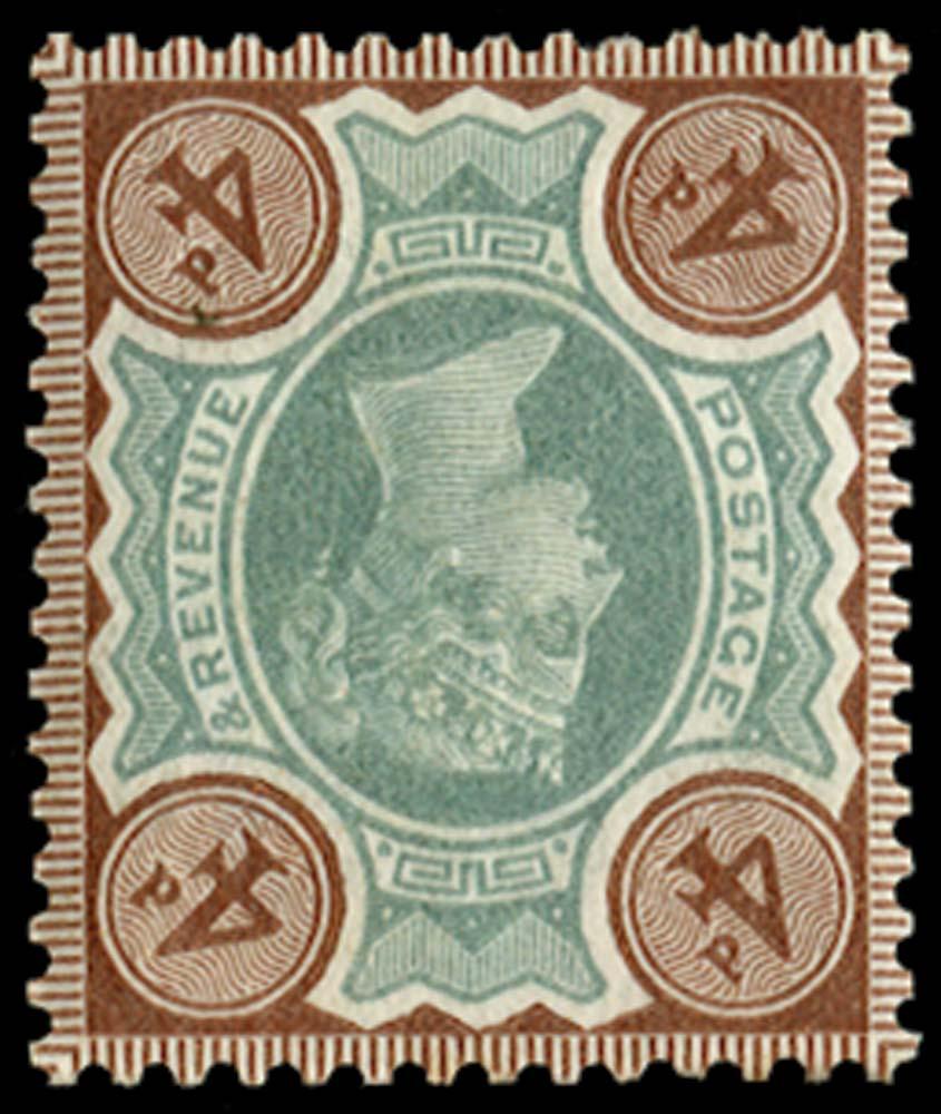 GB 1887  SG205wi Mint
