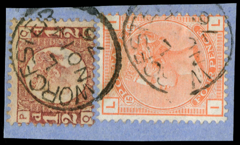 GB 1870  SG48, 152 Used
