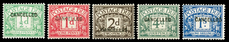 GB 1914  SGD1/8var Postage Due