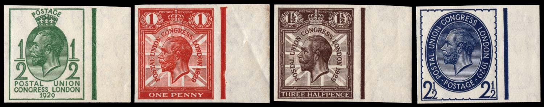 GB 1929  SG434/7var Mint
