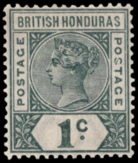 BRITISH HONDURAS 1891  SG51a Mint