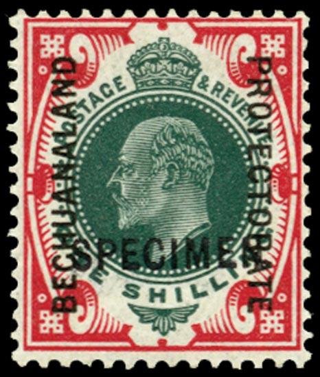BECHUANALAND 1904  SG71 Specimen