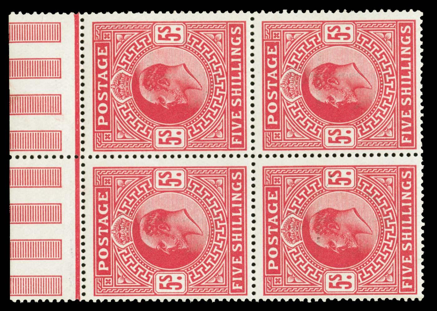 GB 1911  SG318 Mint