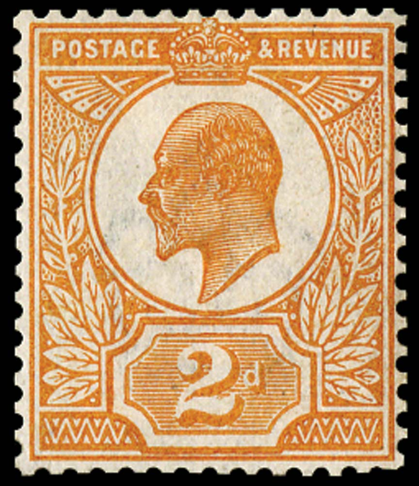 GB 1909  SG225var Colour Trial