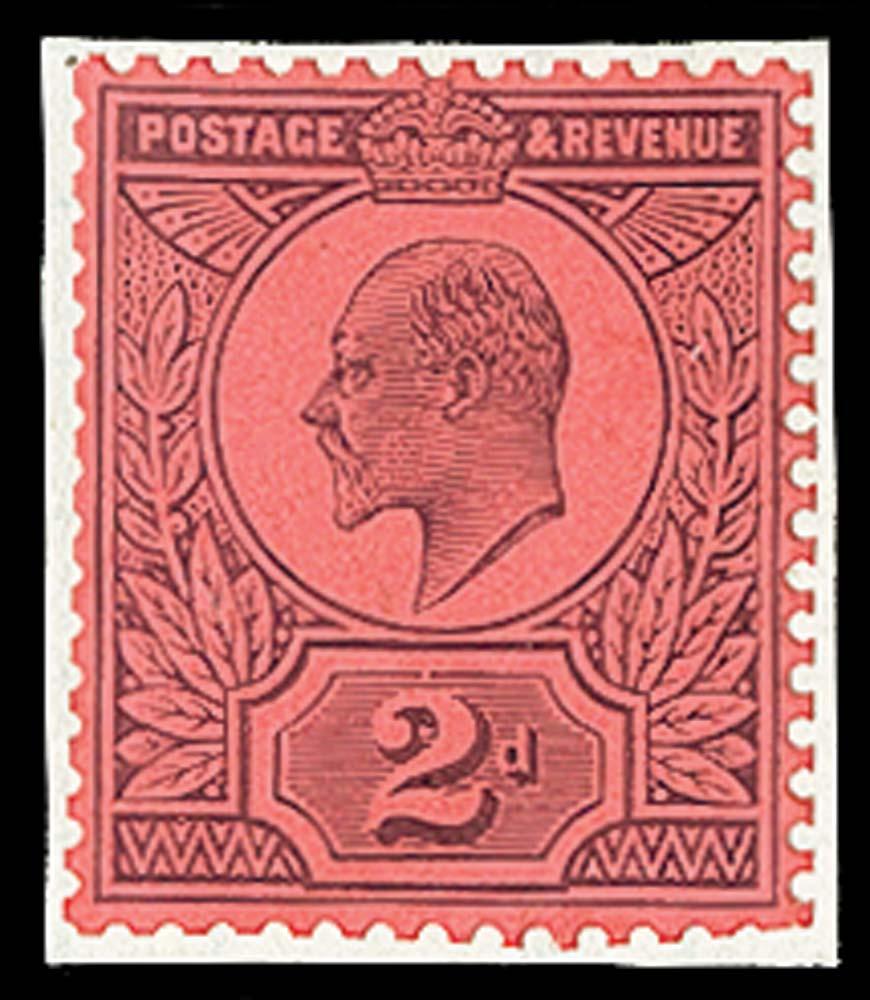 GB 1909  SG225var Mint