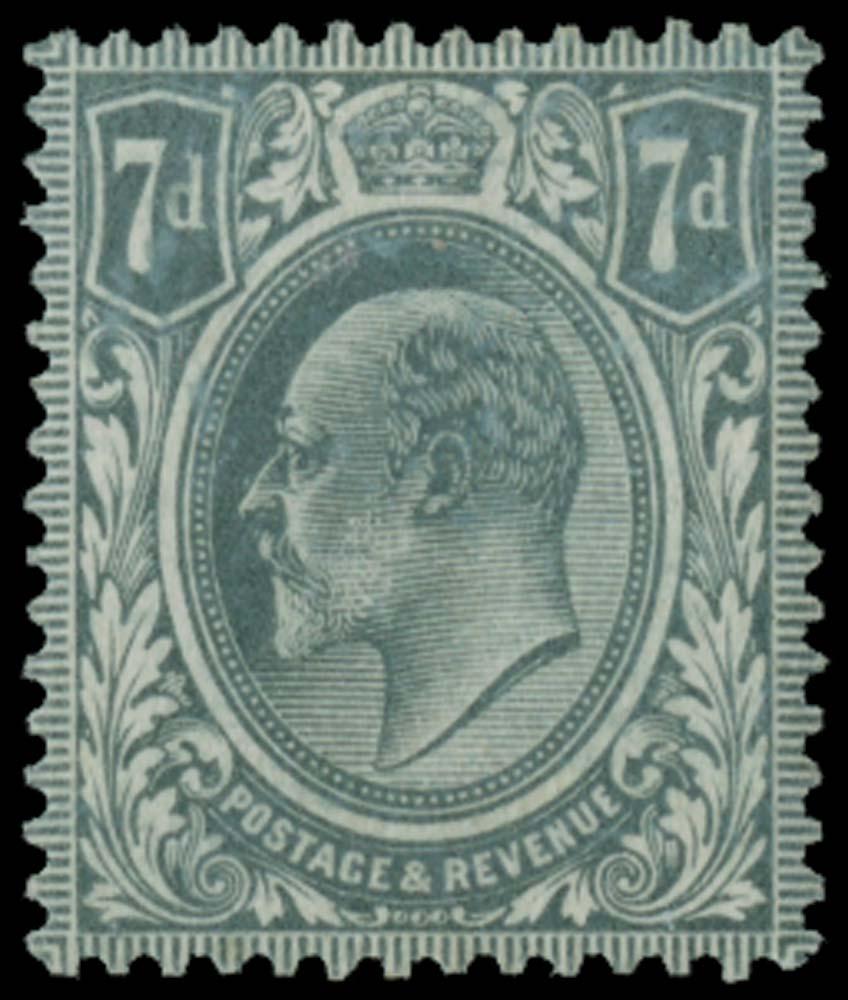 GB 1910  SG249var Colour Trial