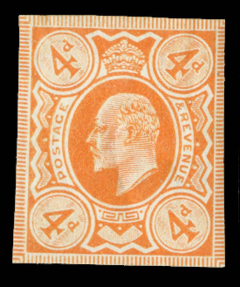 GB 1909  SG239var Mint