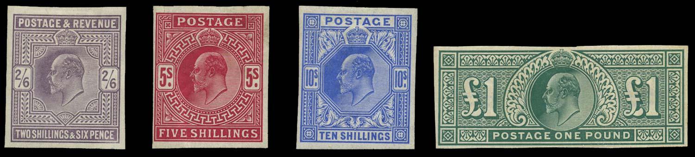 GB 1902  SG260/6var Mint