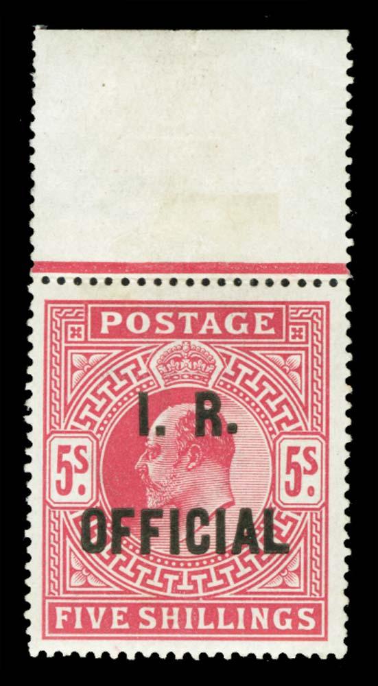 GB 1902  SGO25a Official