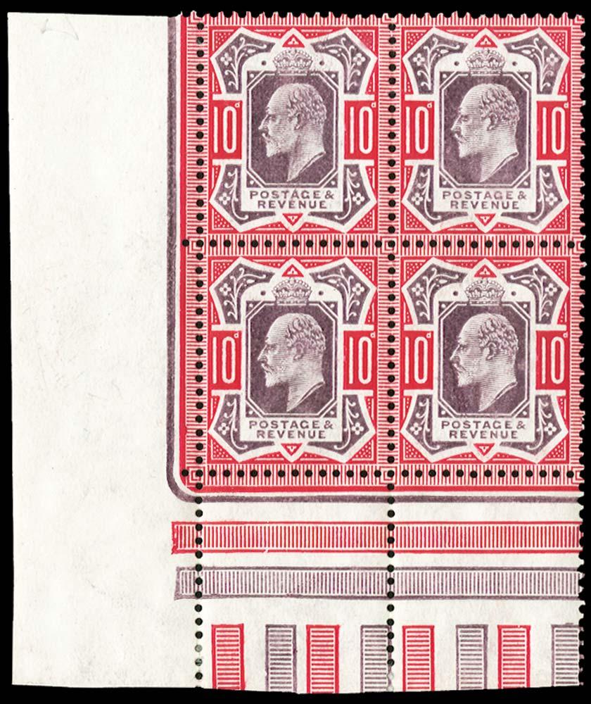 GB 1902  SG255 Mint