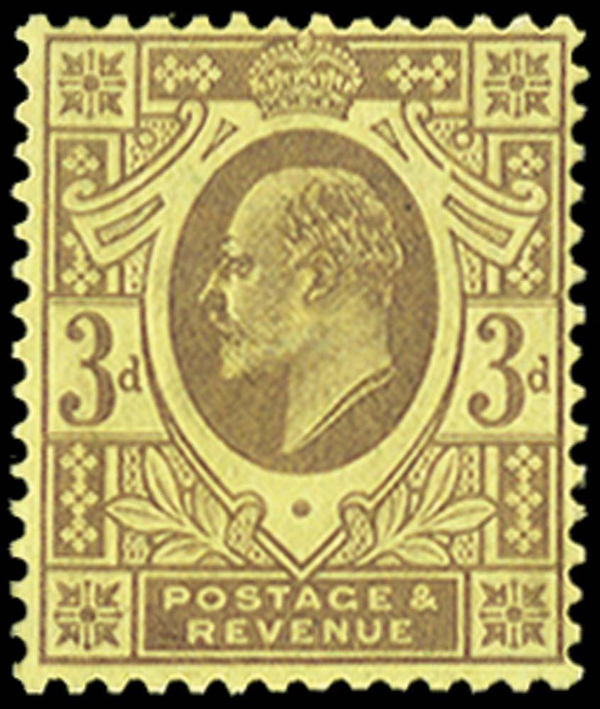 GB 1911  SG233bvar Mint