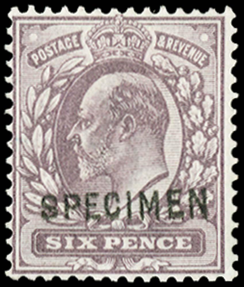 GB 1902  SG245aas Specimen