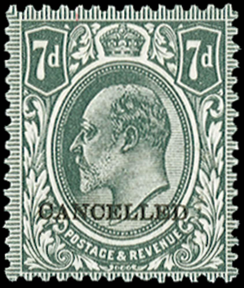 GB 1912  SG305var Specimen