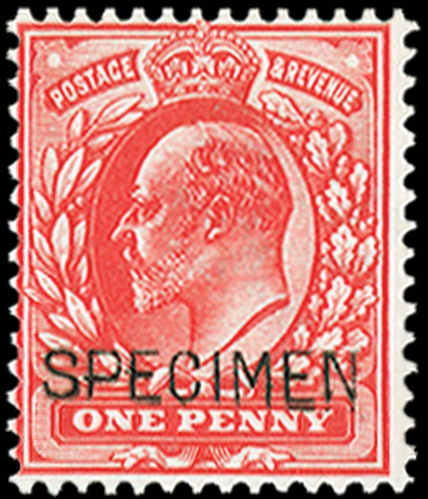 GB 1902  SG220var Specimen