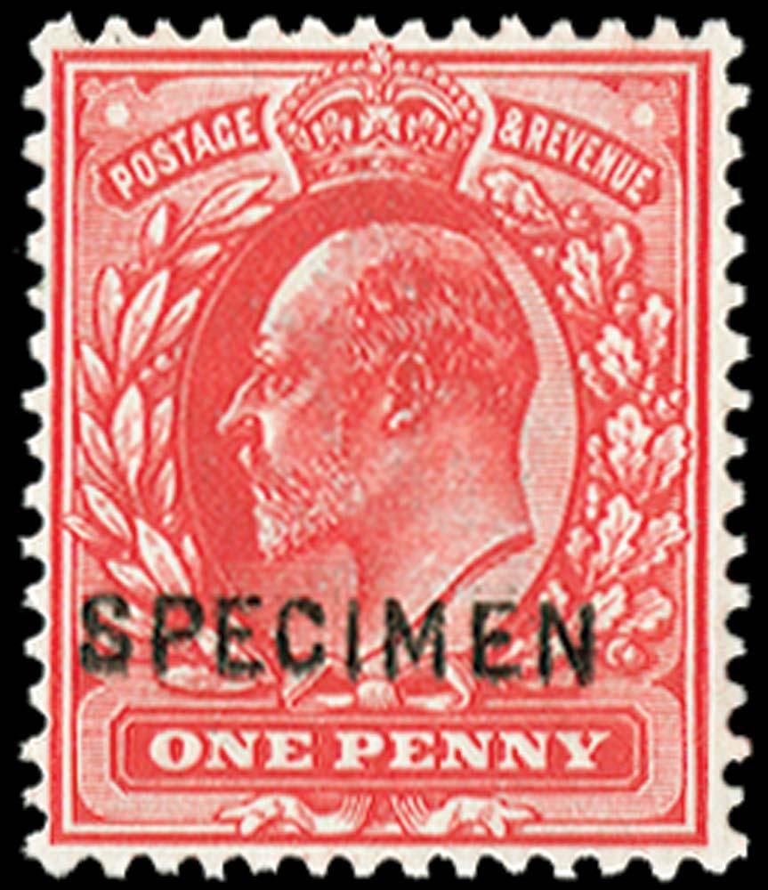 GB 1902  SG220s Specimen
