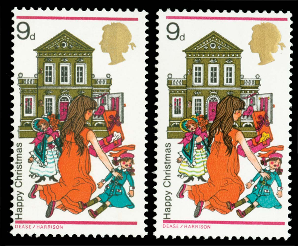 GB 1968  SG776a Mint yellow omitted