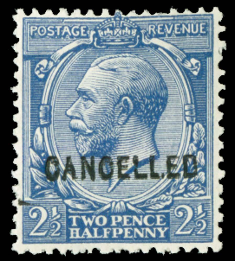 GB 1912  SG372var Mint