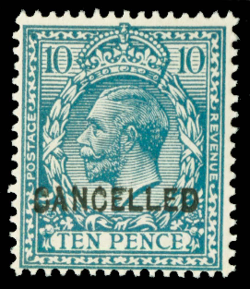 GB 1913  SG394var Mint