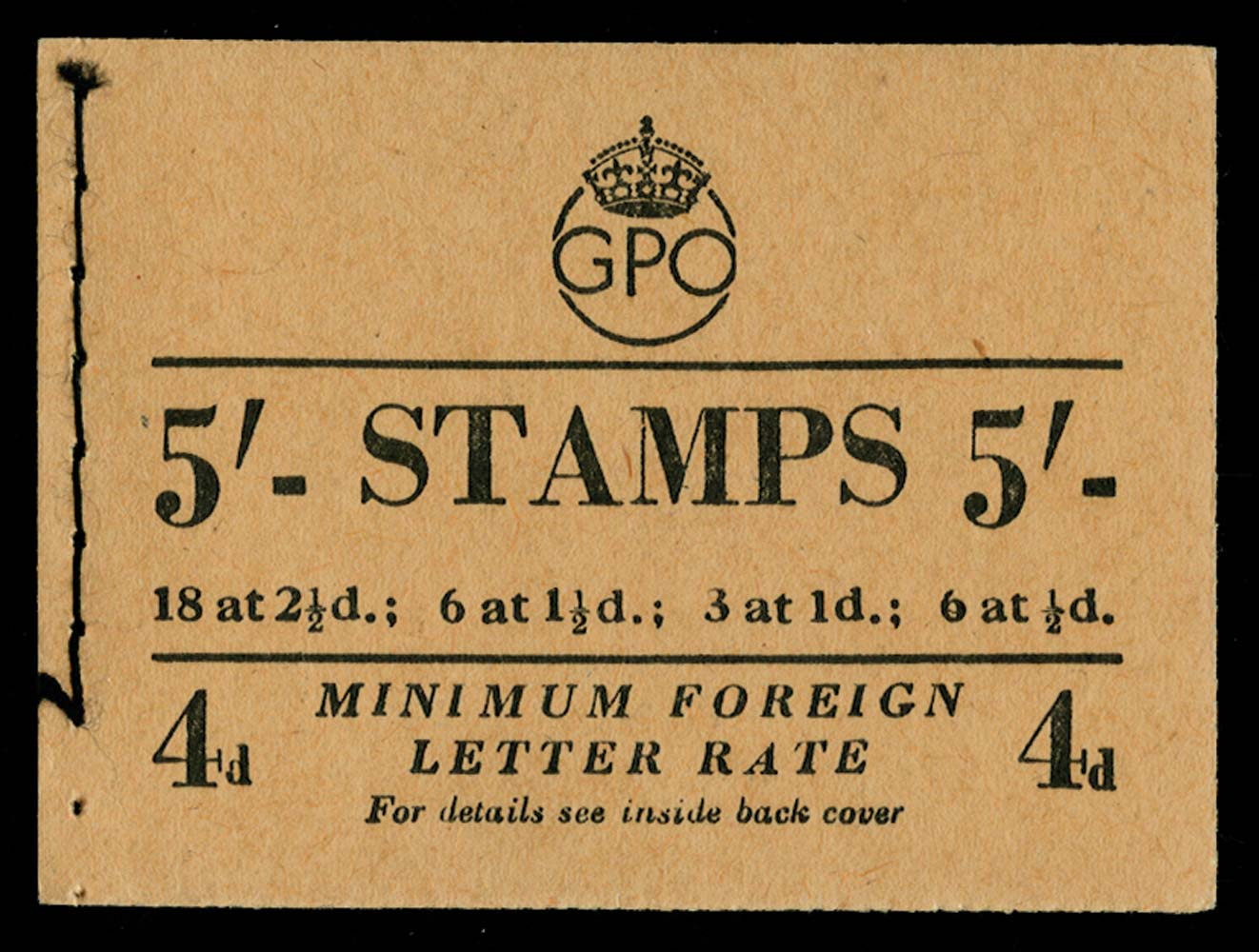 GB 1952  SGBD31 Booklet (May)