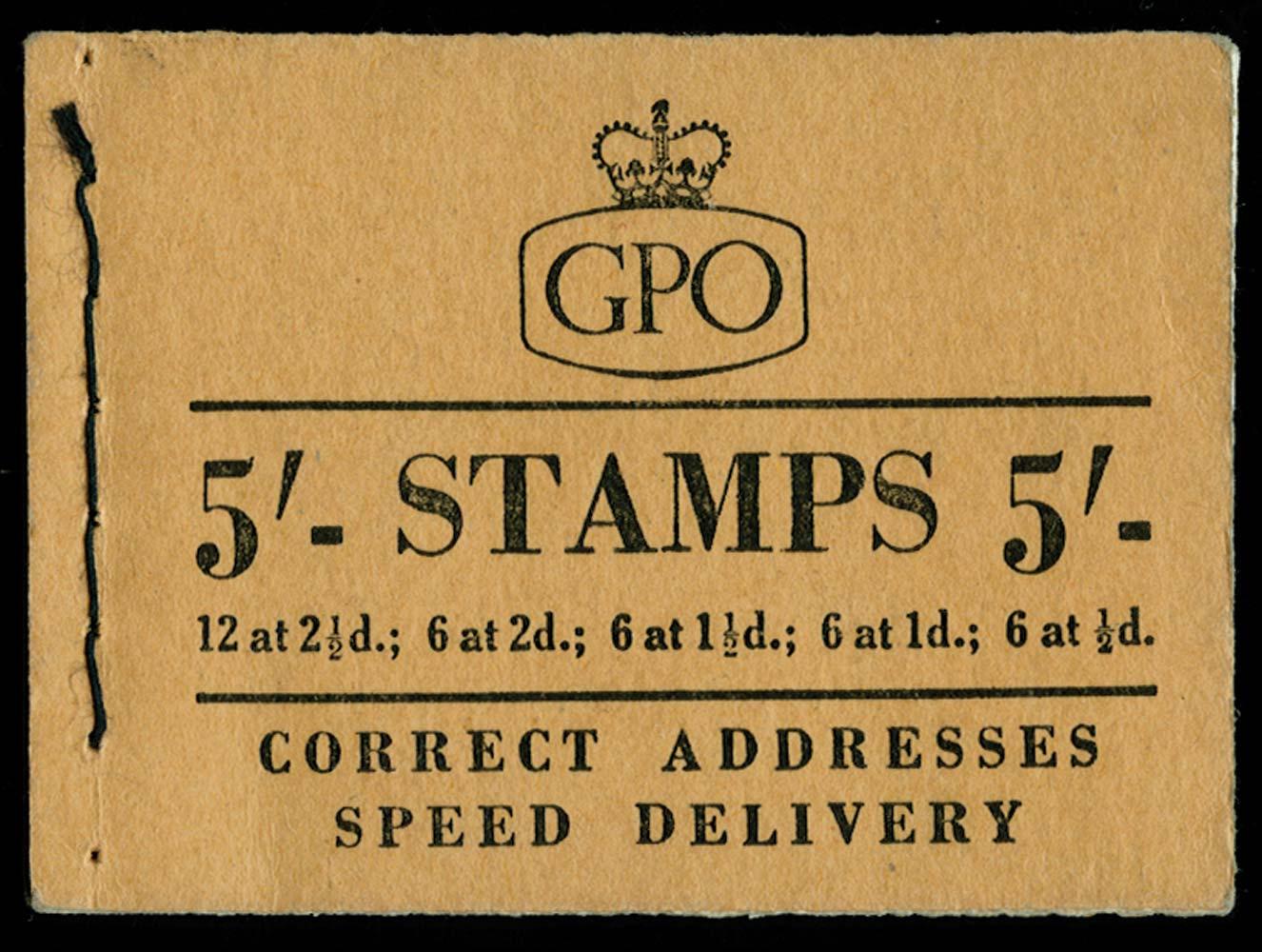GB 1958  SGH36 Booklet