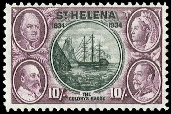 ST HELENA 1934  SG123 Mint