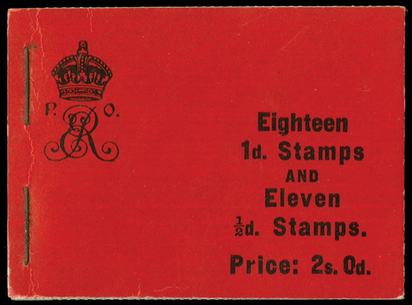 GB 1909  SGBA5 Booklet