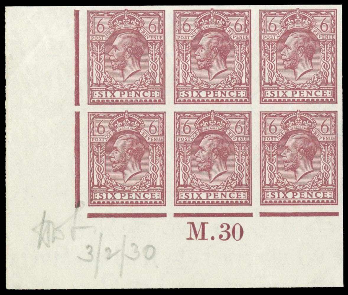 GB 1930  SG426a var Mint