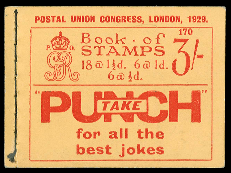 GB 1929  SGBB25 Booklet (Edition 170)