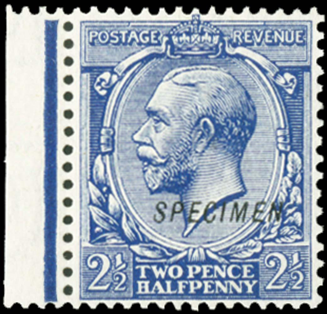 GB 1912  SG372s Mint