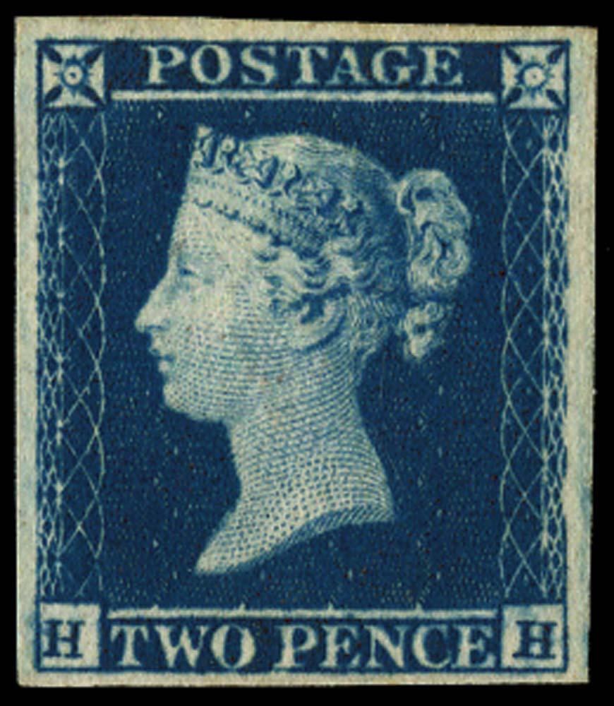 GB 1841  SG14var Pl.4 Mint