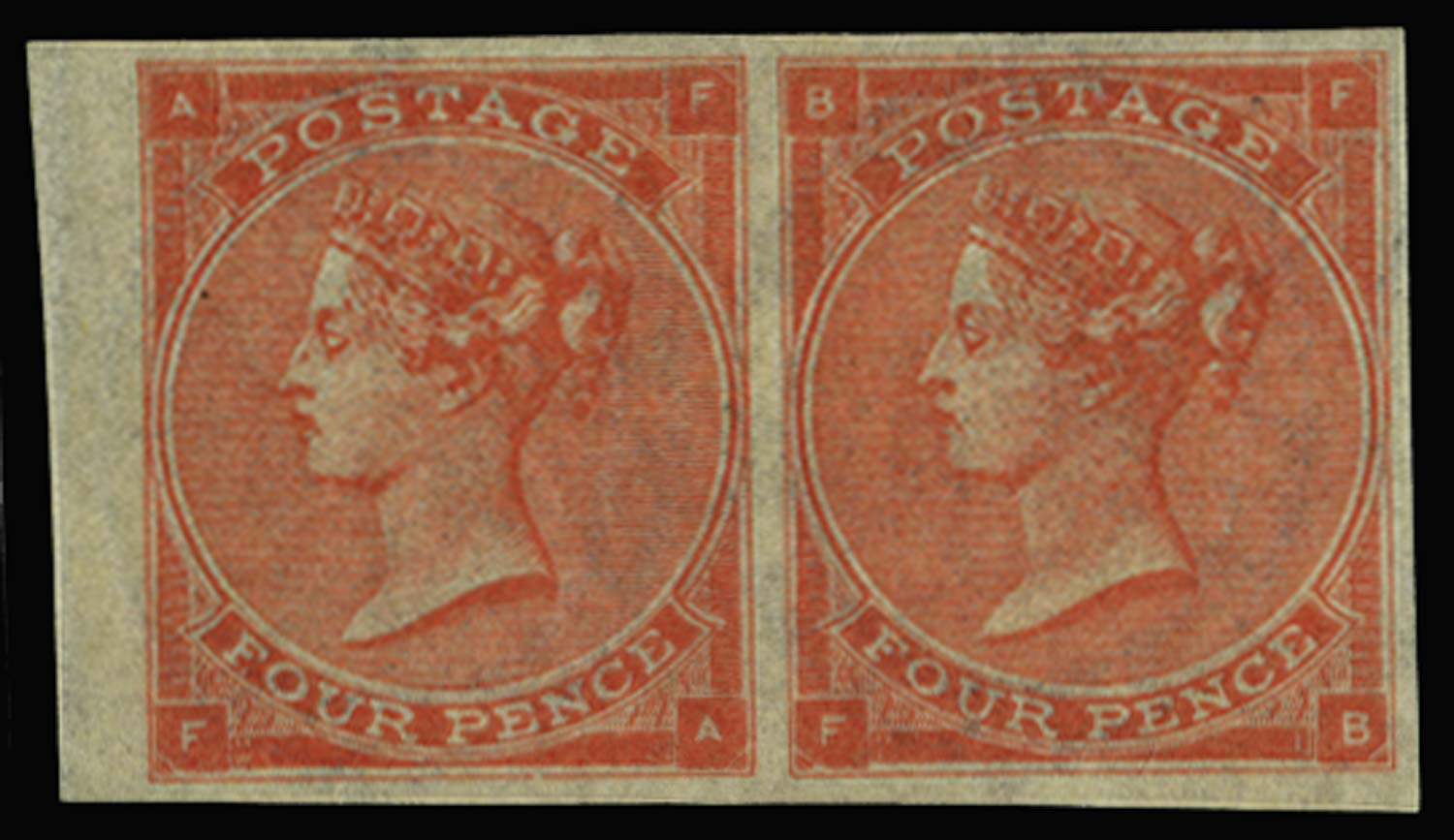 GB 1863  SG82a Pl.4 Mint