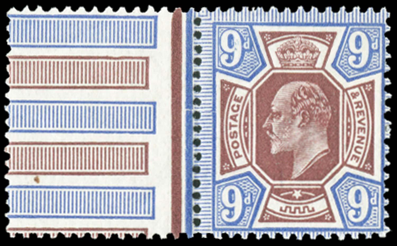 GB 1911  SG307var Mint