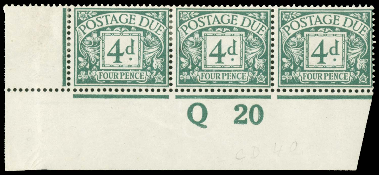 GB 1914  SGD6wi Postage Due