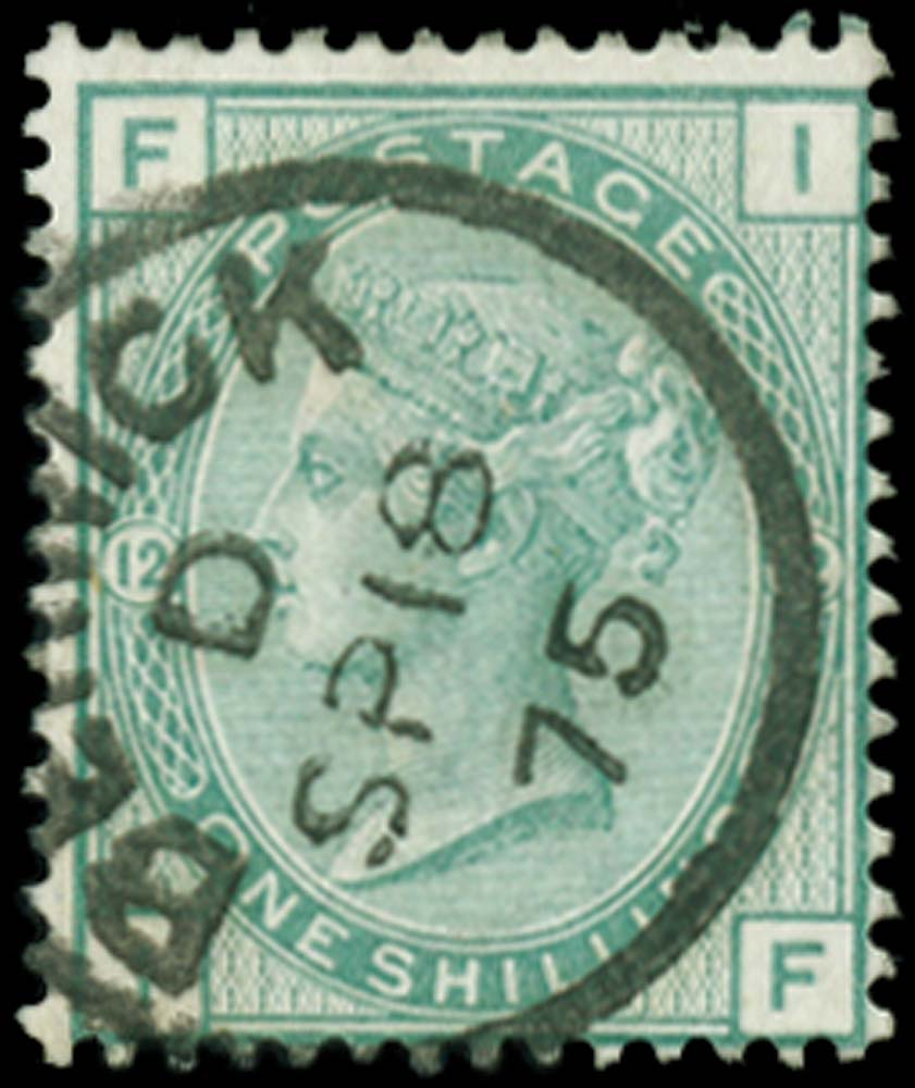 GB 1875  SG150 Pl.12 Used