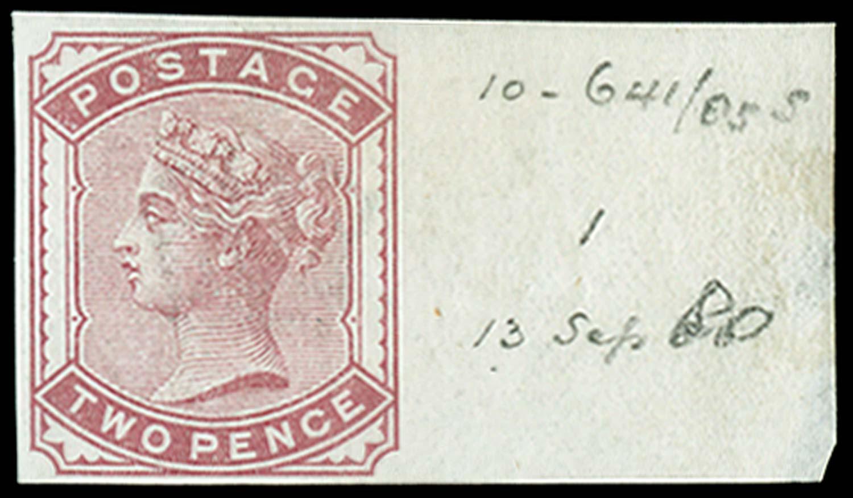 GB 1880  SG168 Pl.1 Essay