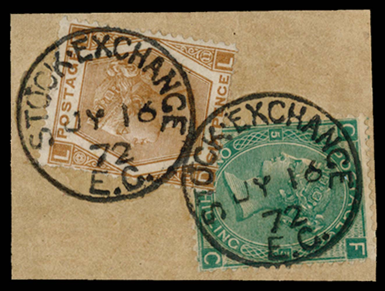 GB 1871  SG117var Pl.5 Forgery