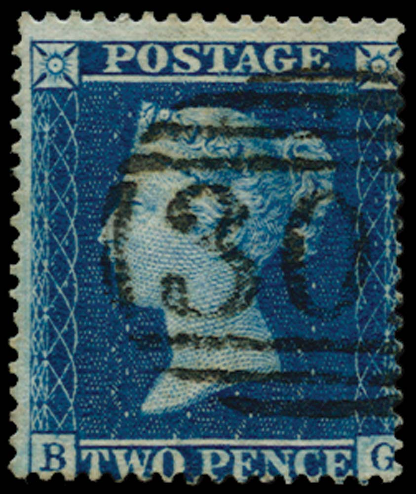 GB 1858  SG36a Pl.6 Used