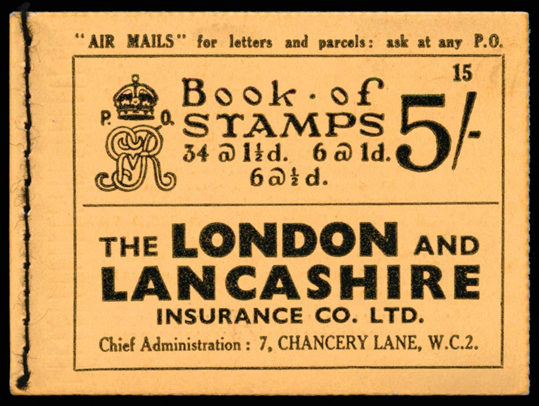 GB 1935  SGBB37 Booklet (Edition 15)