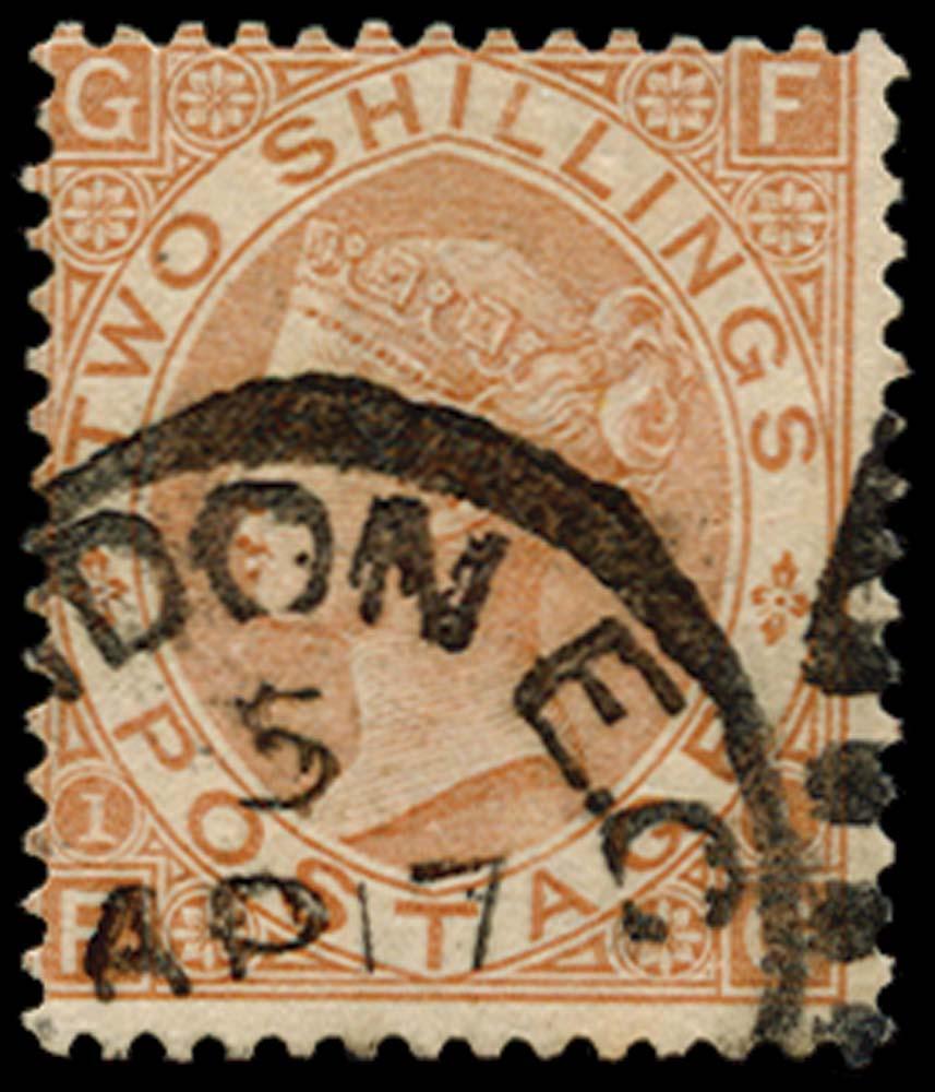 GB 1880  SG121 Pl.1 Used London E.C. cds