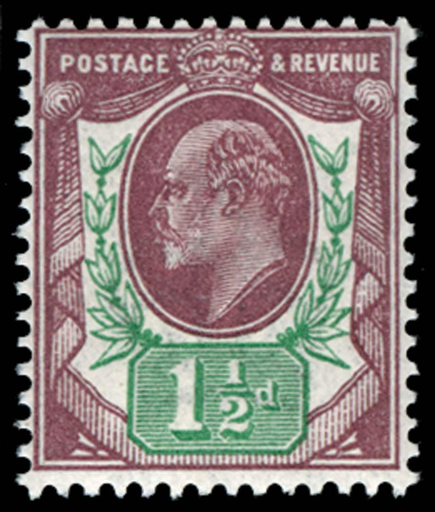 GB 1911  SG288var Mint