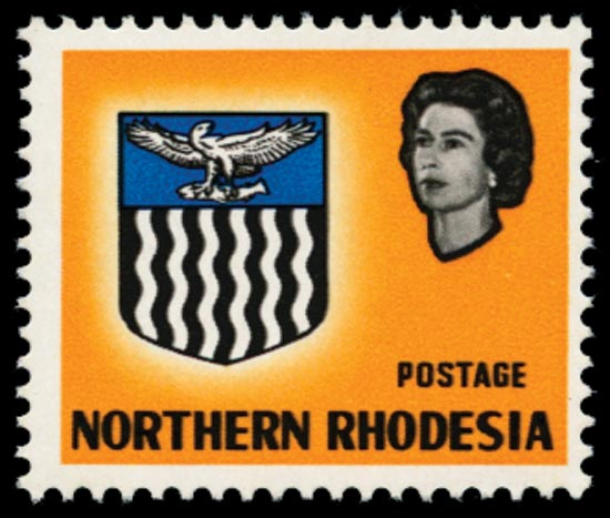 NORTHERN RHODESIA 1963  SG78b Mint