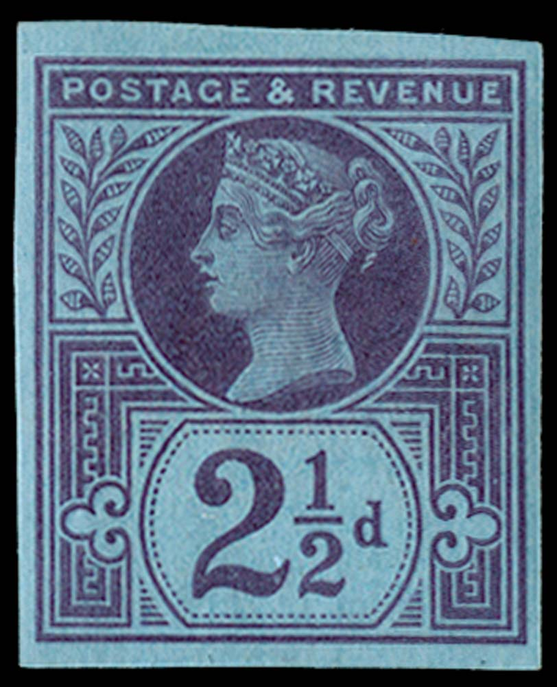 GB 1887  SG201var Pl.3 Mint
