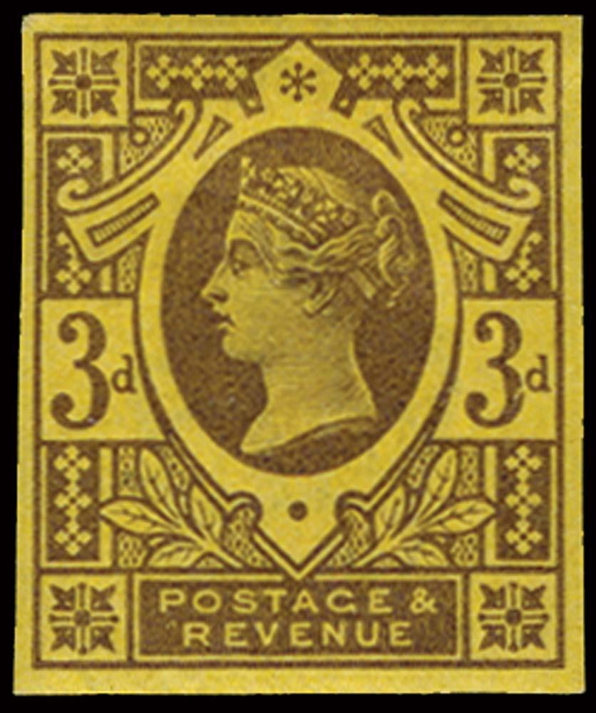 GB 1887  SG202var Pl.3 Mint