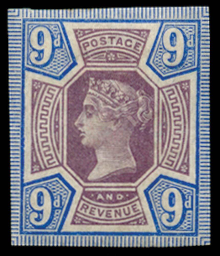 GB 1887  SG209var Mint